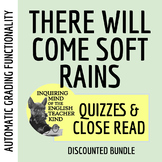 """There Will Come Soft Rains"" Close Reading & Quiz Bundle -"
