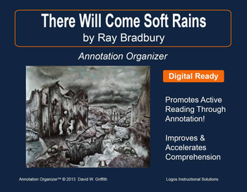 "Ray Bradbury ""There Will Come Soft Rains"" worksheets by Peter D 