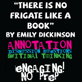 """There is No Frigate Like a Book"" by Emily Dickinson Poem Analysis"