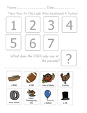 """There was an Old Lady Who Swallowed A...Holiday Bundle"" Sequencing Worksheets"