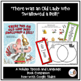 """""""There was an Old Lady Who Swallowed a Bell!"""" Speech Therapy Book Companion"""