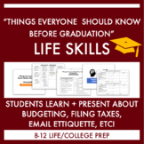 """Things Everyone Should Know Before Graduation"" Presentati"