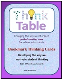 Guided Reading Thinking Cards