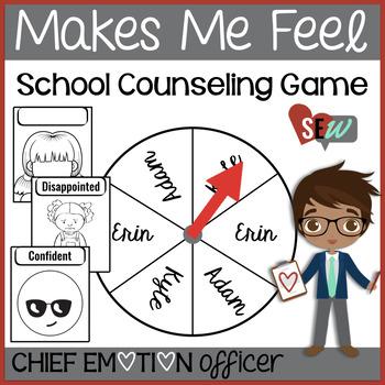 Knowing Feelings Game with Feelings Flashcards