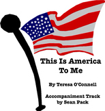 """This is America to Me""  Sheet Music"