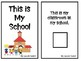 """""""This is My School"""" Back-to-School Adapted Interactive Book for Emergent Readers"""