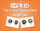 """This or That"" VIPKID Reward Flashcards"