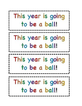 """""""This year is going to be a ball"""""""