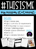 #ThisisMe-My Mission Statement Project