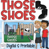 """Those Shoes"" by Maribeth Boelts Companion Lesson: Compassion & Wants vs. Needs!"