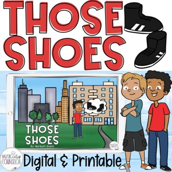 """Those Shoes"" by Maribeth Boelts Companion Lesson: Compassion & Wants vs. Needs!"