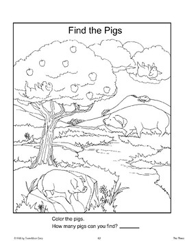"""""""Three Little Pigs"""": End-of-Unit Activities"""