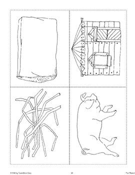 """Three Little Pigs"": Reading Activities"