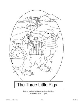 """Three Little Pigs"": Retold Story"