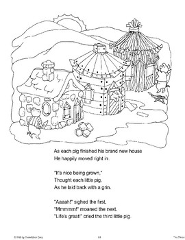 """Three Little Pigs"": Retold Story"
