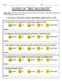 """""""Three Skeleton Key"""" Suspense Worksheet Using Emojis"""