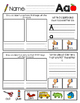 """""""Thumbs Up"""" Beginning Sounds Practice *Color Printables*"""