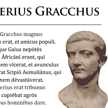 """Tiberius Gracchus"" Reading Passage and Activities"