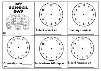 'Time' Mini Books