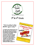 """Time Out!"" Time to the Minute 3rd & 4th Common Core Grade Game Packet"