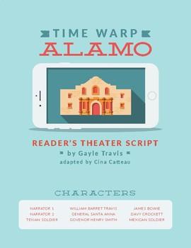 """Time Warp Alamo"" Texas History Reader's Theater"