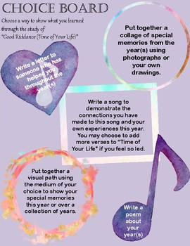 """""""Time of Your Life"""" A Complete ELA Teacher's Guide"""