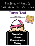 """""""Tina's Taxi"""" Activities for Reading, Writing, and Comprehension"""