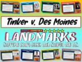 -Tinker v. Des Moines- Landmark Supreme Court Case (PPT, handouts & more)