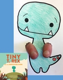 """""""Tiny T. Rex and the Impossible Hug"""" Finger Puppet"""