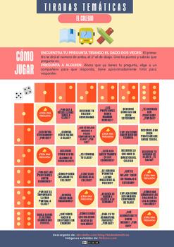 Tiradas temáticas - Tableros para practicar 16 temas diferentes