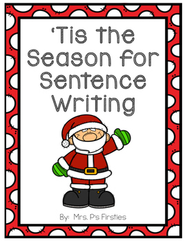 'Tis the Season for Sentence Writing