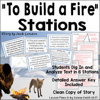"""To Build a Fire"" Thinking Stations"