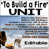 """To Build a Fire"" Unit - Jack London"