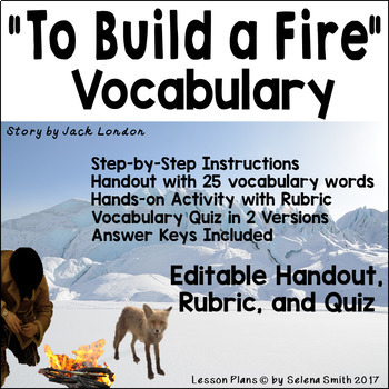 """To Build a Fire"" by Jack London Vocabulary"