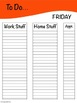"FREE! ""To Do"" Binder Cover Checklists"