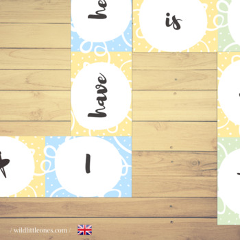 """Verbs Domino Game⎜ """"To have"""" and """"To be"""" ⎜Printable Dominoes⎜Printable Game"""