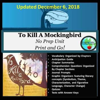 """""""To Kill a Mockingbird"""" Unit"""