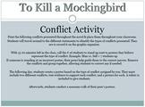 """""""To Kill a Mockingbird"""" Conflict Activity"""
