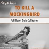 'To Kill a Mockingbird' Full Novel Quiz Collection