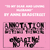 """To My Dear and Loving Husband"" by Anne Bradstreet"