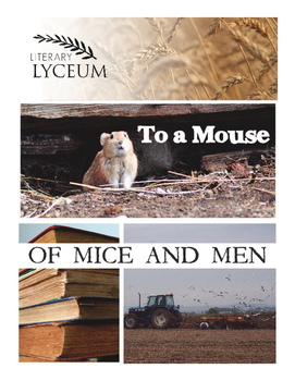 """To a Mouse"" Lesson: Of Mice and Men"