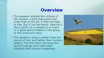 """""""To a Skylark"""""""