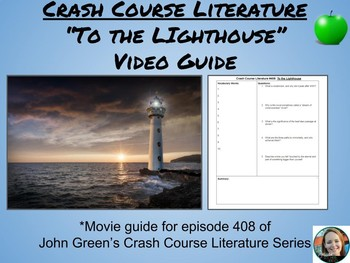 """To the Lighthouse"" Crash Course Literature Video Guide (Episode 408)"