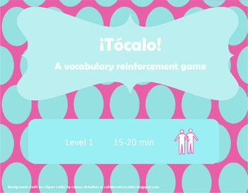 ¡Tócala! Así Se Dice Chapter 5 Vocabulary Reinforcement Game: Los Deportes