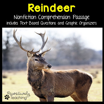 Reindeer Reading Passage Nonfiction Text & Questions