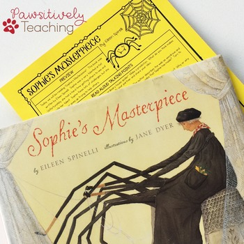Sophies masterpiece interactive read aloud by pawsitively teaching sophies masterpiece interactive read aloud sciox Images
