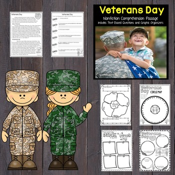 Veterans Day Reading Passage Nonfiction Text & Questions