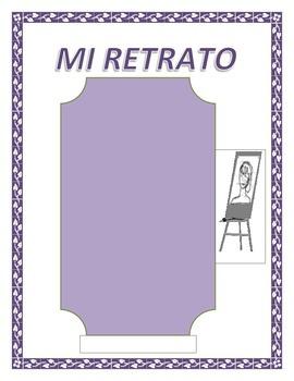 """""""Todo Sobre Mi""""-SER Adjective & Noun Review- Family Review -Spanish I"""