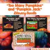 **Too Many Pumpkins, Pumpkin Jack and Story Elements Craftivity Bundle!**