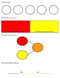 """""""Toss the Chips"""" Work Mats - number bonds and number sente"""